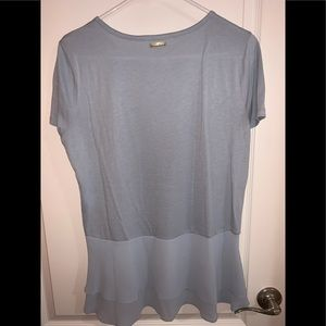 Michael Kors peplum blouse